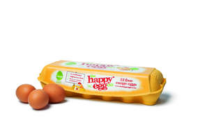 the happy egg co. is expanding distribution of its high quality Free Range eggs to 84 Albertsons stores in Texas, Louisiana and Arkansas. Free Range eggs from the happy egg co. will now be available at 1,500 stores throughout the nation, including grocery stores in California, Arizona, Nevada, and Colorado.