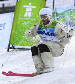 Dale Begg-Smith Wins Olympic Silver in Moguls
