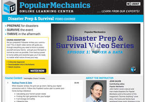 Popular Mechanics disaster prep and survival