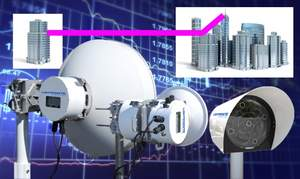 Ultra Low Latency 70 & 80 GHz wireless backhaul and Free Space Optics by LightPointe