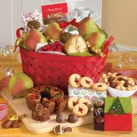 The Harry & David Christmas Gift Basket Classic