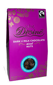 Divine Dark & Milk Chocolate Mixed Nuts