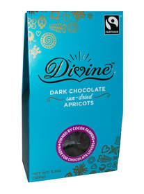 Divine Dark Chocolate Sun-Dried Apricots