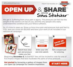 SUDAFED(R) OPEN UP and Share(TM) Contest