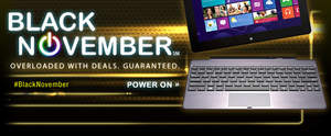 The best deals all month long during Newegg's Black November campaign.