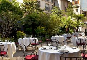 Terrace restaurant Paris