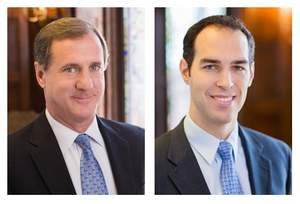Personal injury attorneys Larry Cohan and David Carney