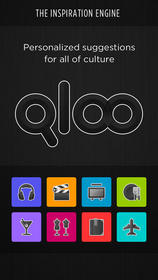 Qloo, app, iPhone, culturual discovery, music, film, TV, dining, nightlife, fashion, books, travel