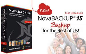 NovaBACKUP 15 - Backup For The Rest Of Us