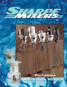 The Sharpe Portables and F-Series Mixers Brochure