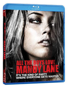 Amber Heard stars in ALL THE BOYS LOVE MANDY LANE on Blu-ray and DVD!
