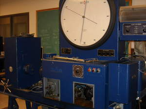 Tinius Olsen torsion tester going strong at Lehigh University since 1965