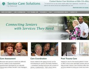 OakwoodSeniorSolutions.org Home Page