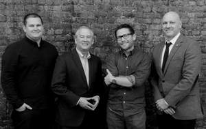 From left to right: John Cornette (SVP, Executive Creative Director), Joe Erwin (President), Con Williamson (Chief Creative Officer) and Jon Dunleavy (Managing Director, NY/Director of Account Management).   Photo Credit: Jon Simon
