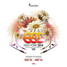 Insomniac announces Electric Daisy Carnival, New York 2014.