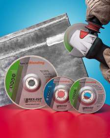 Rex-Cut(R) Type 27 Cotton Fiber Grinding Wheels