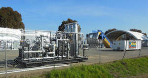 BioCNG, LLC's alternative vehicle fuel system for Sacramento BioDigester facility