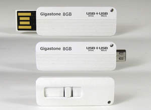 Gigastone On-The-Go USB MicroUSB drive