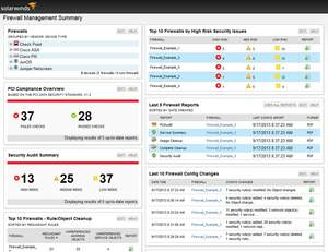 image of SolarWinds Firewall Security Manager
