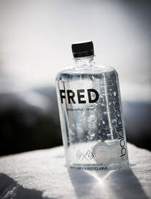 The limited edition Fred Water x Baldface bottles seen above are now available exclusively at Baldface Lodge.  The rest of the flask-shaped Fred Water bottles are available at select retailers and on Fredwater.com.