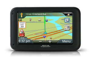 Magellan RoadMate Commerical 5370T-LMB GPS