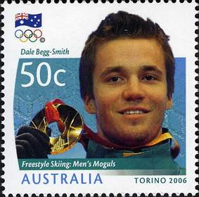 Dale Begg-Smith's Achievements Commemorated on Postage Stamp