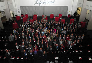 Edwards hosted more than 200 grant recipients at its annual awards celebration on December 4.