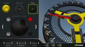 NVIDIA Tegra K1 VCM, UI Composer Studio, digital dashboard