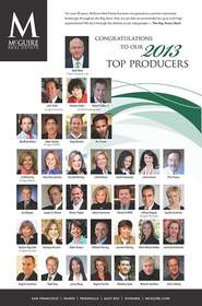 McGuire Real Estate, San Francisco Top Producers, Bay Area Real Estate