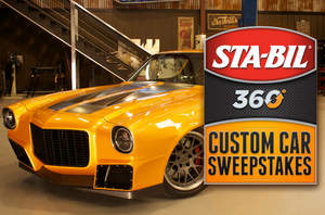STA-BIL, 360, sweepstakes, classic car, camaro, chevy, chevrolet, Car Fix, Velocity