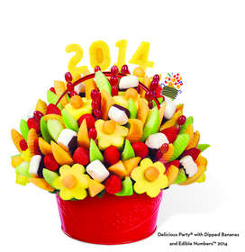 Delicious Party(R) Dipped Bananas with Edible Numbers(TM) 2014
