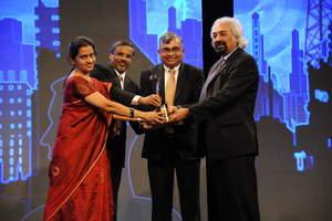 CNBC award presentation