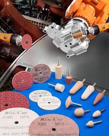 Rex-Cut cotton fiber mounted points &Type 1 abrasive wheels