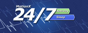 MotionX-24/7: Medical-grade sleep monitoring, snore/apnea detection, resting heart rate and activity tracking for the iPhone.