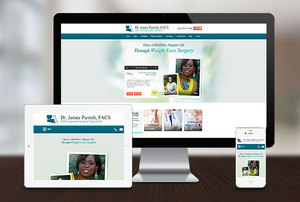 Dr. James Parrish Launches a New Bariatric Surgery Website