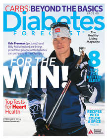 Diabetes Forecast magazine, February 2014