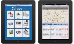 Screenshots of Catavolt's enterprise apps