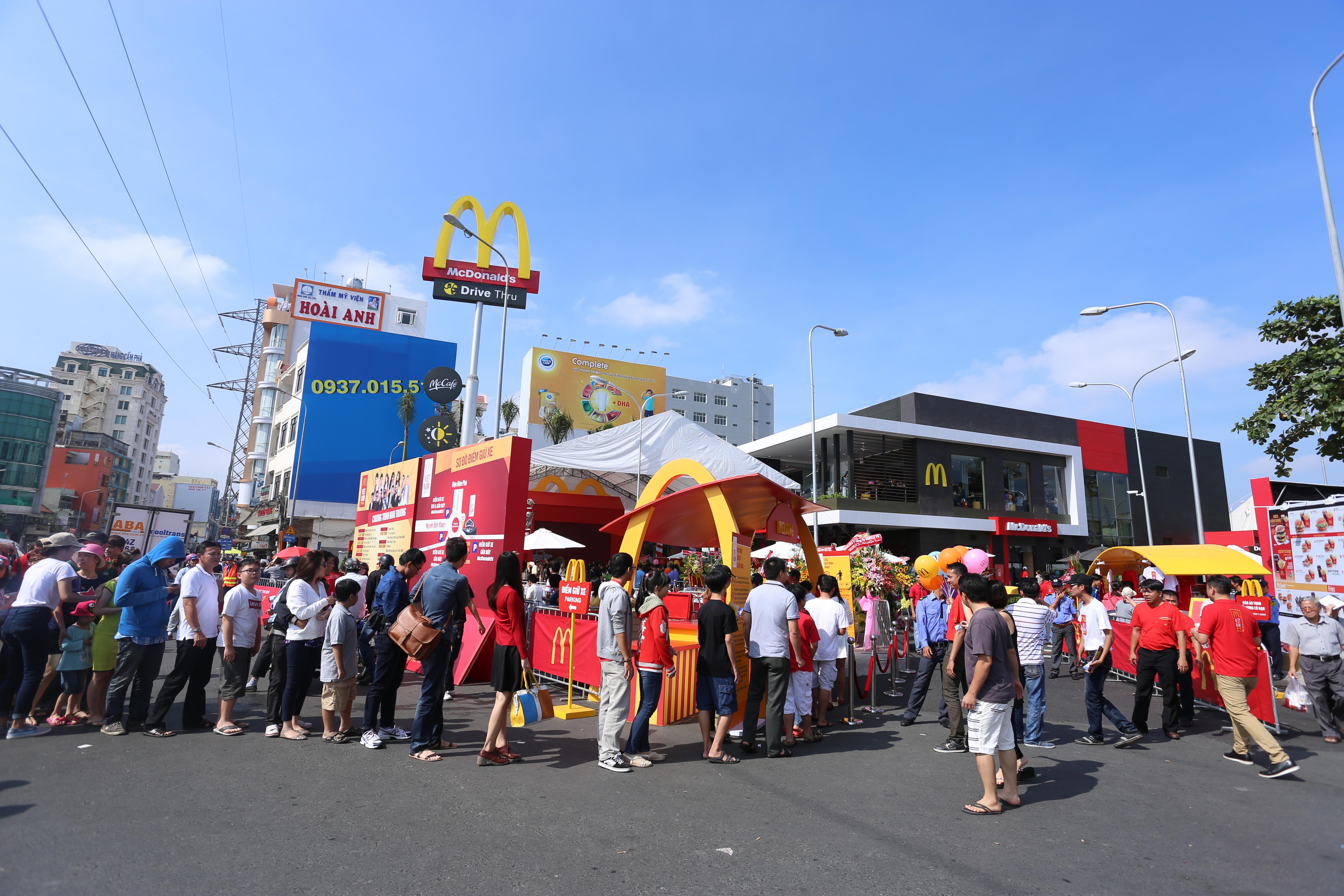 travel mcdonalds opens vietnam