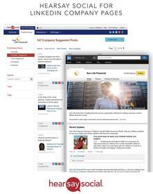 Hearsay Social for LinkedIn