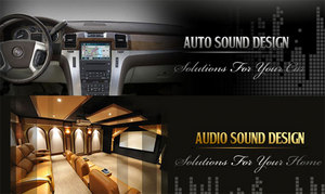auto sound design, car audio, home theatre system
