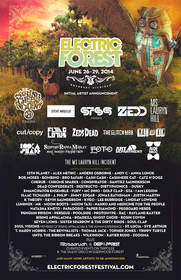 Initial Artist Lineup Revealed for the 4th Annual Electric Forest Festival, June 26 – 29, 2014