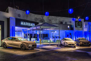 The O'Gara Coach Company Maserati of Westlake Showroom.
