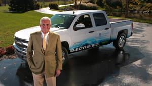 Bob Lutz,Chevy Volt,electric cars,ev,Silverado,chevy pickup,GM,VIA Motors,VTRUX,Tesla,Fisker,hybrid