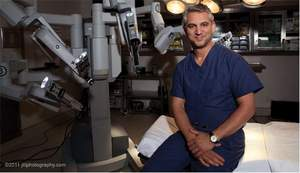 prostate cancer surgeon, NY robotic surgeon, Dr. David Samadi, NY urologist Lenox Hill Hospital