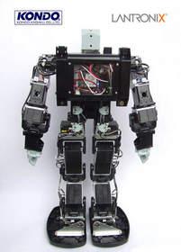 Lantronix and Kondo - Humanoid Robot 2014