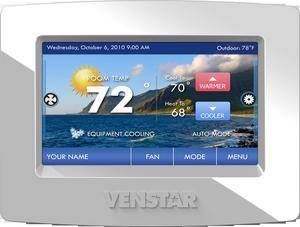 Venstar's ColorTouch Thermostats Now Certified For Integration with Control4 Automation Systems