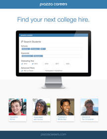 College Students, Recruiting, Computer Science, Piazza Careers