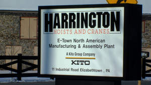 Industrial Hoist Manufacturer, Harrington Hoists, Inc., Allentown, PA