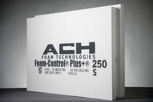 Foam Control Plus EPS insulation has achieved three industry firsts.
