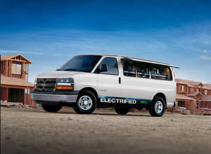 electric trucks,ev,express access,hybrid,erev,VIA,electric vehicl,trucks,cars,GM,cargo van, tesla